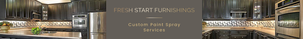 Fresh Start Furnishings Cabinet Refinishing Services